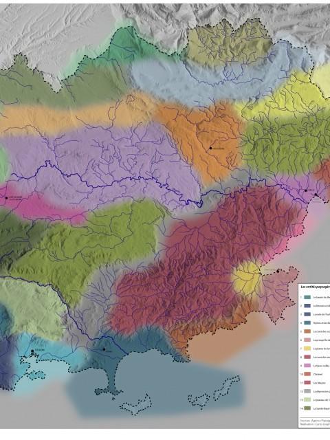 Atlas des paysages du Var-France