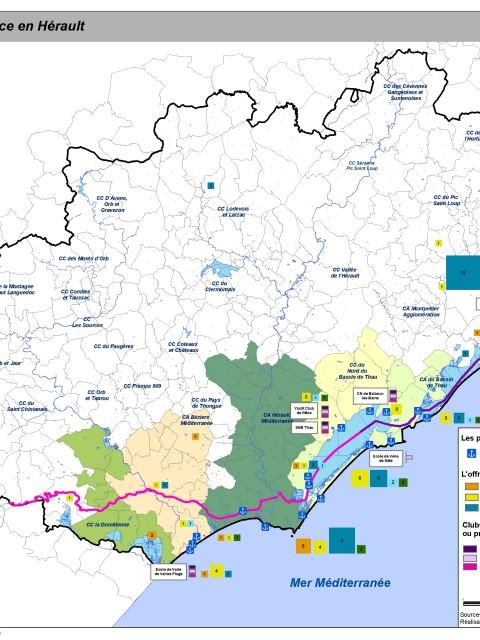 carte inventaire offre touristique