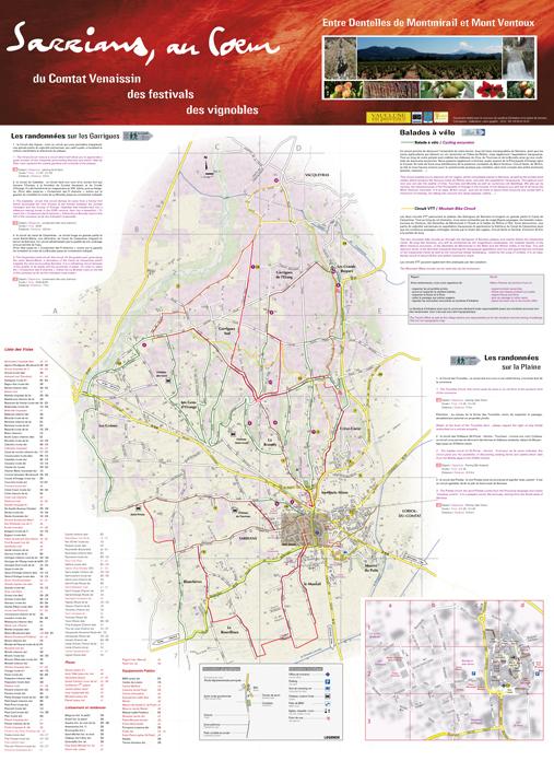 Plan de ville commune